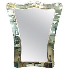 Cristal Art Mirror, Italy, 1950s
