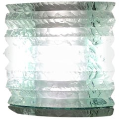 Cristal Art Table Lamp Glass, 1950, Italy