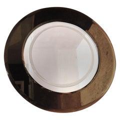 Cristal Arte Attributed Circular Mirror, Mid-1960s