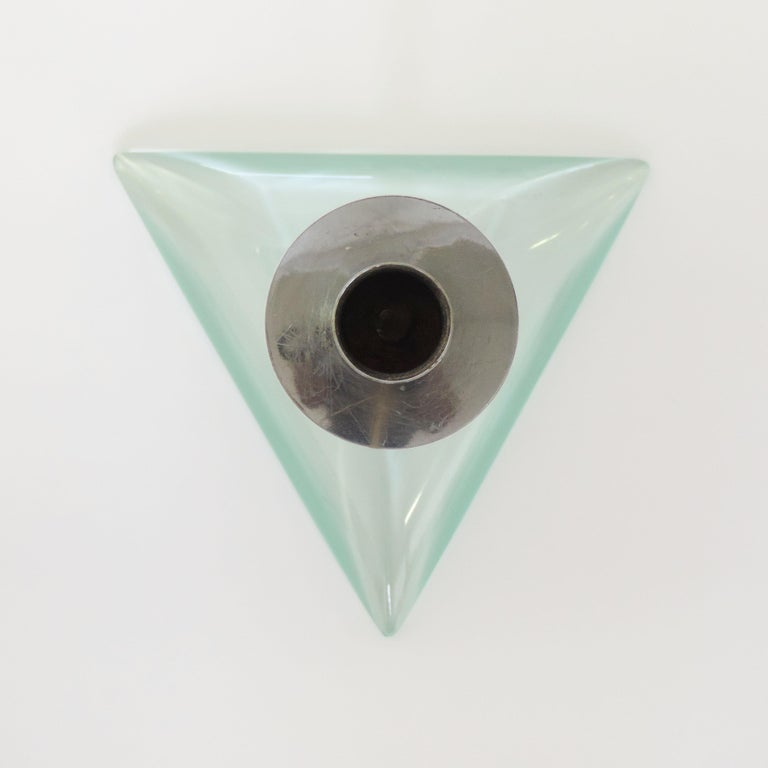 Italian Cristal Arte Candleholder, Italy 1960s For Sale