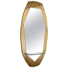Cristal Arte Geometric Mirror