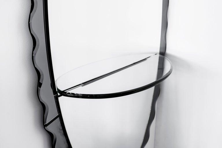 Italian Cristal Arte Mirror
