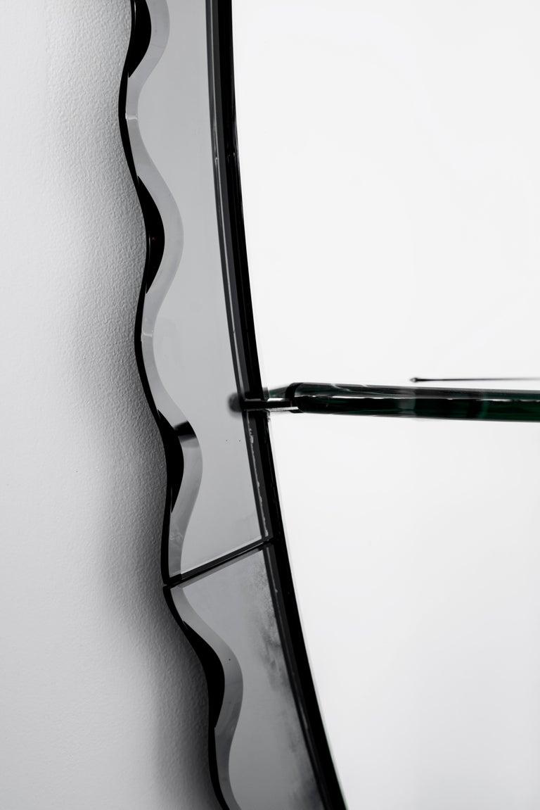 Cristal Arte Mirror In Good Condition In Los Angeles, CA