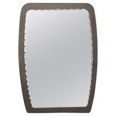 Cristal Arte Rectangular Mirror with Smoky Glass Frame