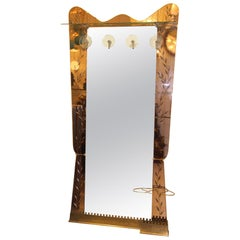 Cristal Arte Wall Mirror, Wall Coat Rack, Large Standing Mirror, Umbrella Stand