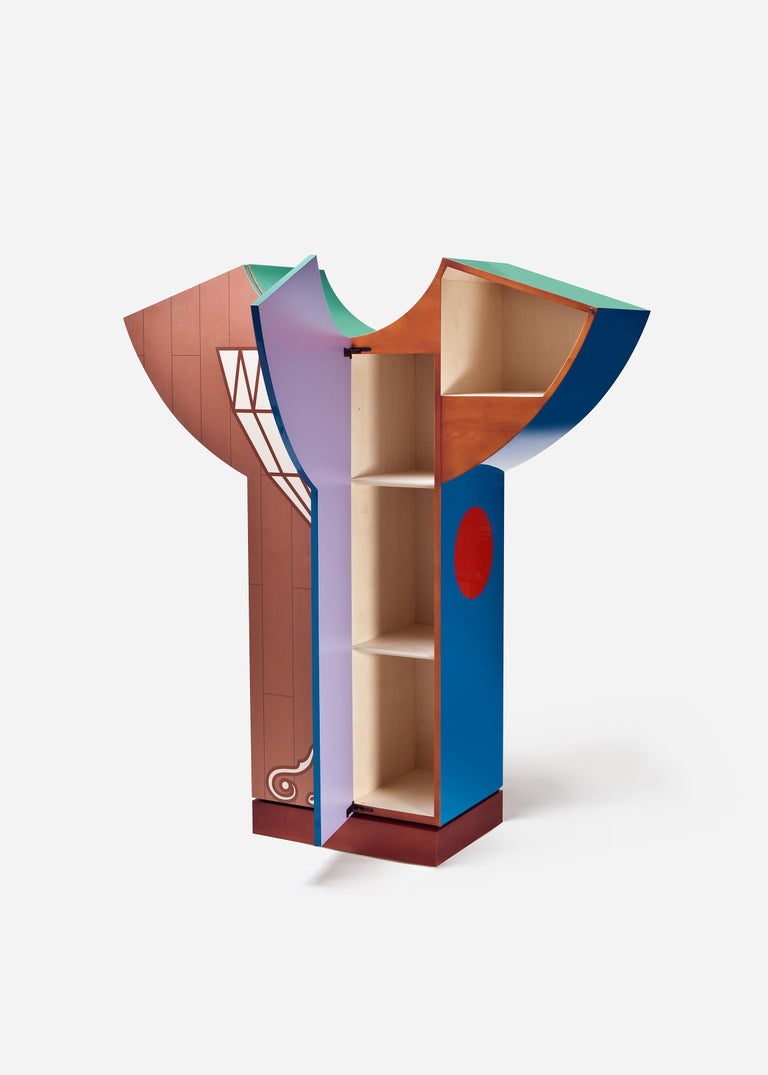 Modern Cristallo Cupboard, Alessandro Mendini For Sale