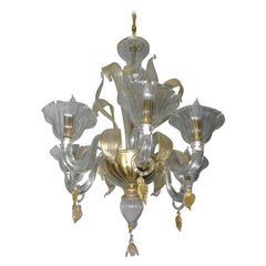 Cristallo Venetian Glass Chandelier
