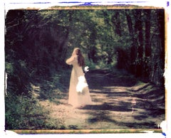 A young bride with a strong headache - Contemporary, Polaroid, Childhood