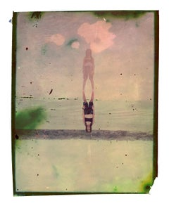El reflejo  - Contemporary, Polaroid, Photograph, Childhood, abstract