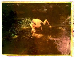 Gabriela at Eleven - Contemporary, Polaroid, Childhood