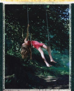 I swing to see the world upside down - Contemporary, Childhood