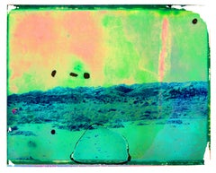 Journey to the center of the earth - Contemporary, Polaroid, Childhood, abstract