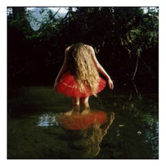 Low Water - Contemporary, Polaroid, Photograph, Childhood. 21st Century