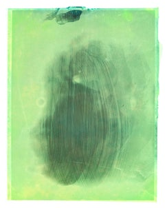Some kind of green Air - Contemporary, Polaroid, Photograph, Childhood, abstract