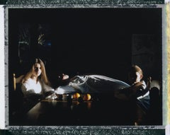 Three Sisters - Contemporary, Polaroid, Photograph, Youth, 21st Century