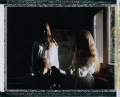 Three Sisters II- Contemporary, Polaroid, Photograph, Youth, 21st Century