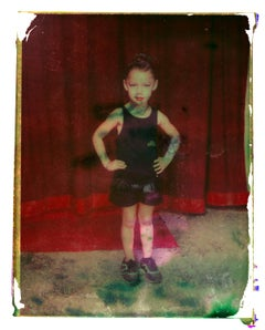 Victoria - Contemporary, Polaroid, Photograph, Childhood, abstract