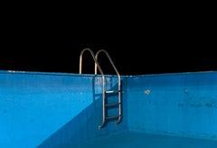Winter Pool - Contemporary, Photograph, Landscape, 21st Century, Color