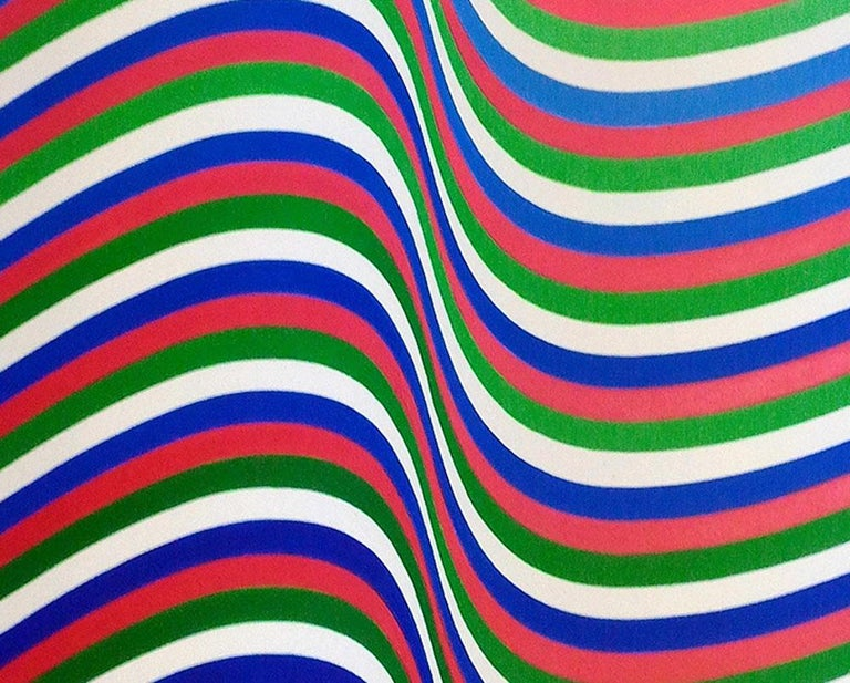 RGB - Abstract Painting by Cristina Ghetti