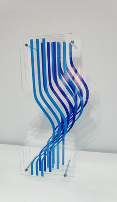 Blue contorsion, (Methacrylate)