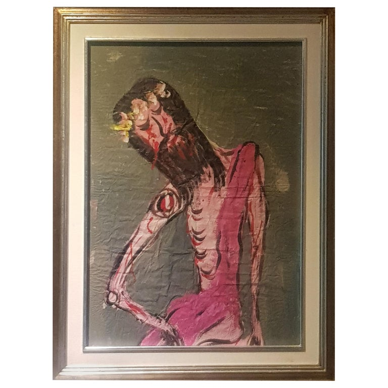 Cristo / Christ / Chucho Reyes / Jesús Reyes Ferreira / Papel / Paper For Sale
