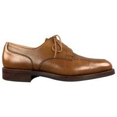 CROCKETT & JONES Size 9 Tan Leather Lace Up