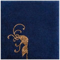 """Croi"" Limited Edition Silk Grey Irish Wool Rug or Tapestry by Rhyme Studio"