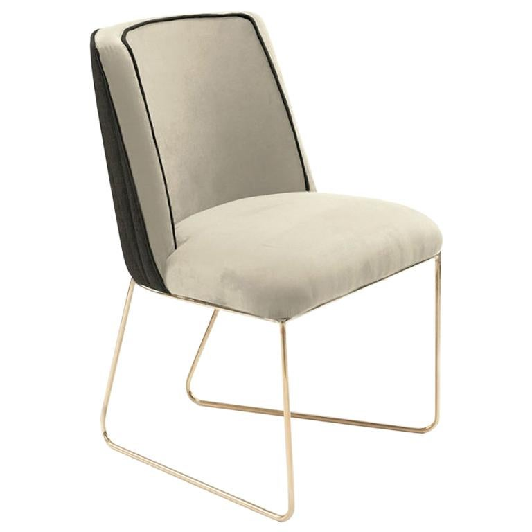 Croix I Chair Brass For Sale