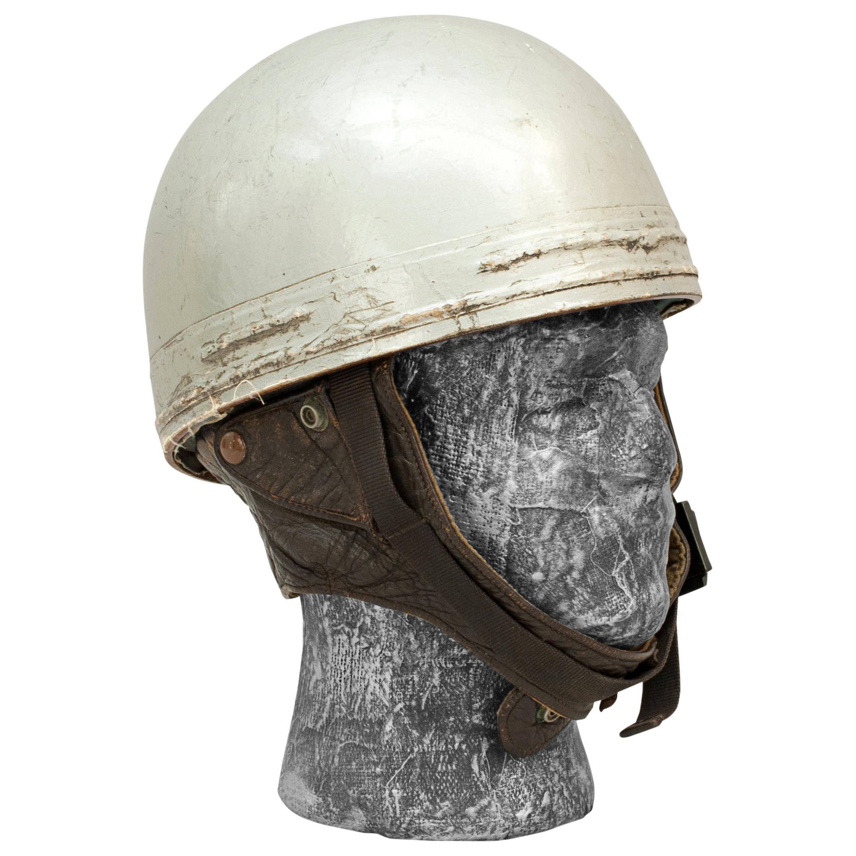 Cromwell Motorcycle Helmet, ACU Approved Pudding Basin Racing Helmet