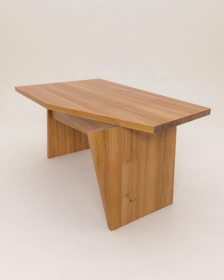 Crooked desk by Nazara Lazaro