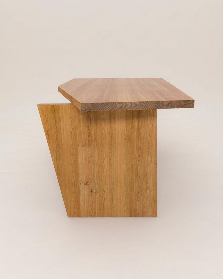 Contemporary Crooked Desk by Nazara Lazaro For Sale