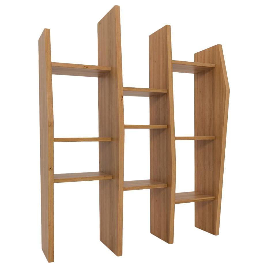 Crooked Shelf by Nazara Lazaro