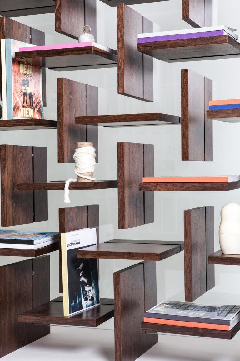 Brazilian Cross Bookcase by Alva Design For Sale