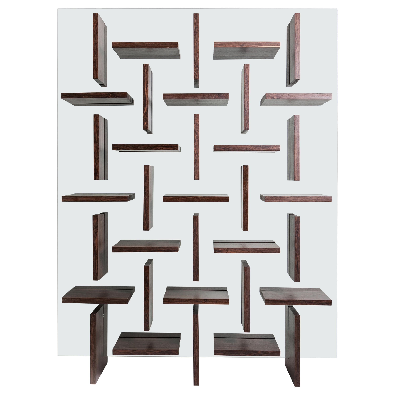 Cross Bookcase by Alva Design