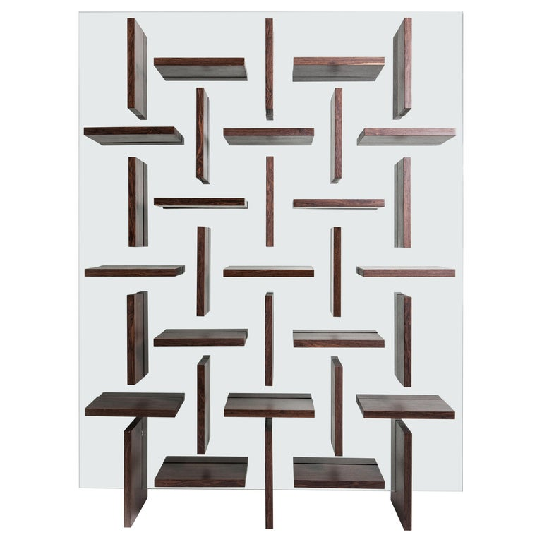 Cross Bookcase by Alva Design For Sale