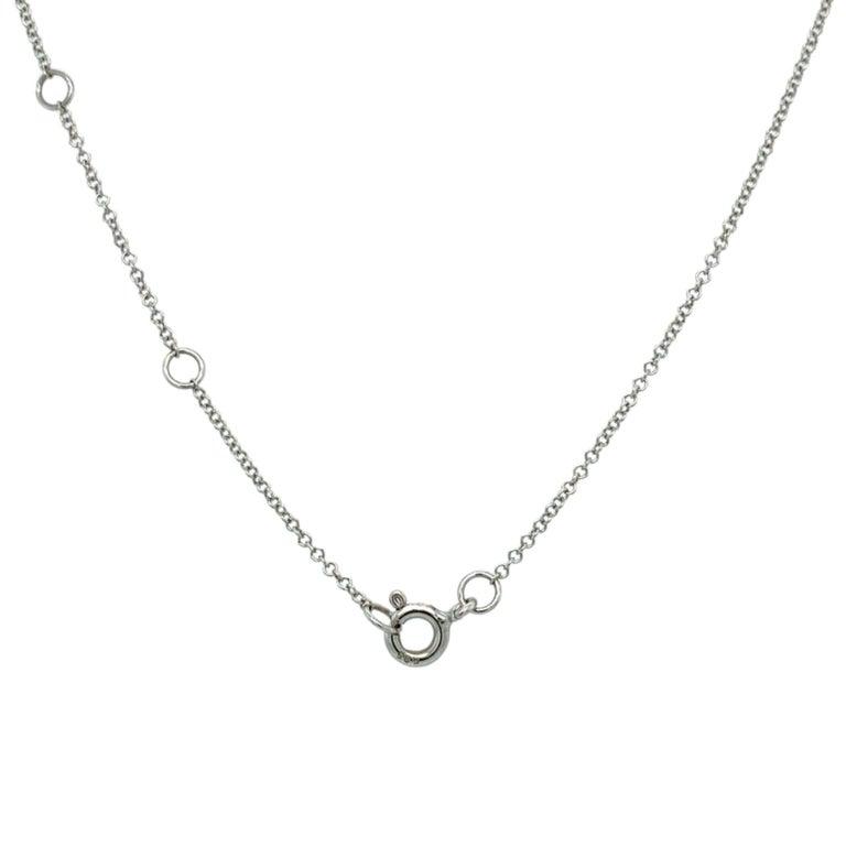 Contemporary Cross Diamond Pendant Necklace For Sale