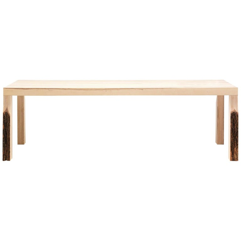 Cross Fade Natural Dining Table by Mogg For Sale