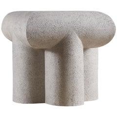 Cross Legged Ceramic Table by Rino Claessens