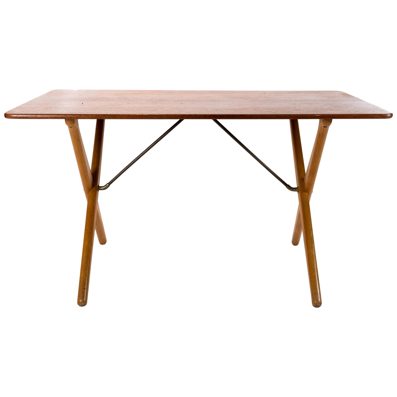 Cross Legged Coffee Table, Model AT-308, by Hans J. Wegner and Andreas Tuck