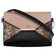 Crossbody - Cobalt Blue Saffiano Leather Handbag