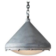Crouse-Hinds Aluminium Pendant, America, circa 1950