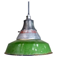 Crouse Hinds Industrial Pendant Lights, circa 1940
