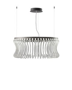 Crown 7335 Suspension Lamp in Glass, by Brian Rasmussen from Barovier&Toso
