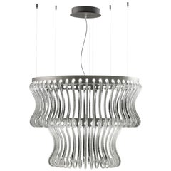 Crown 7337 Suspension Lamp in Glass, by Brian Rasmussen from Barovier&Toso