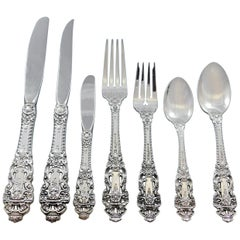 Crown Baroque by Gorham Sterling Silver Flatware Set 8 Service 66 Pcs Dinner
