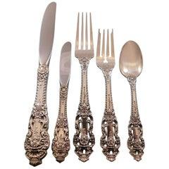 Crown Baroque by Gorham Sterling Silver Flatware Set Service 57 Pieces Dinner