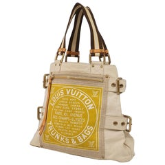 cruise line  Glove  shopperMM  Womens  tote bag M95113  yellow Leather
