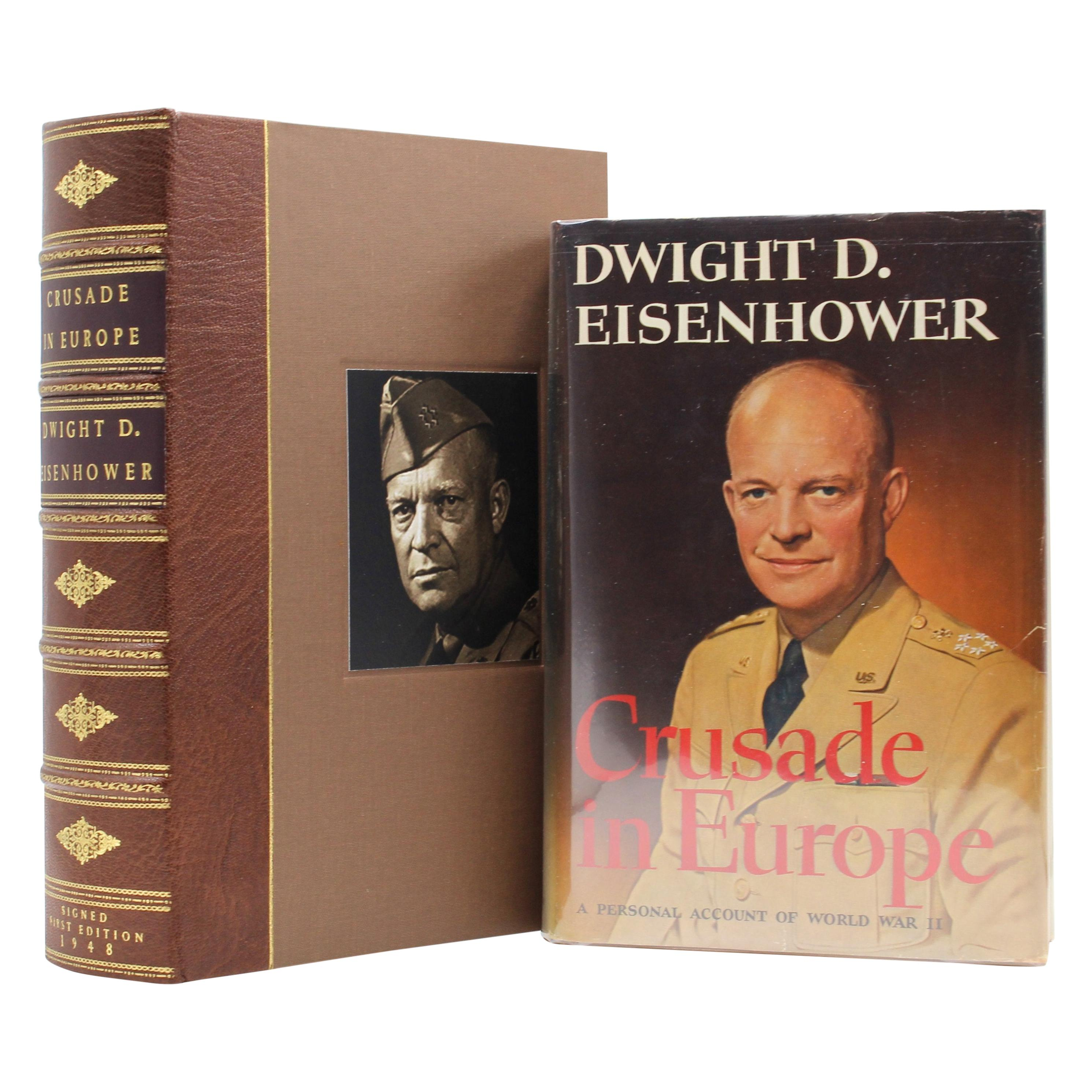 Crusade in Europe, Signed and Inscribed by Dwight D. Eisenhower, First Edition
