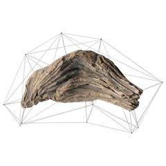 Crust of the Polygon 04 Norihiko Terayama Driftwood Sculpture