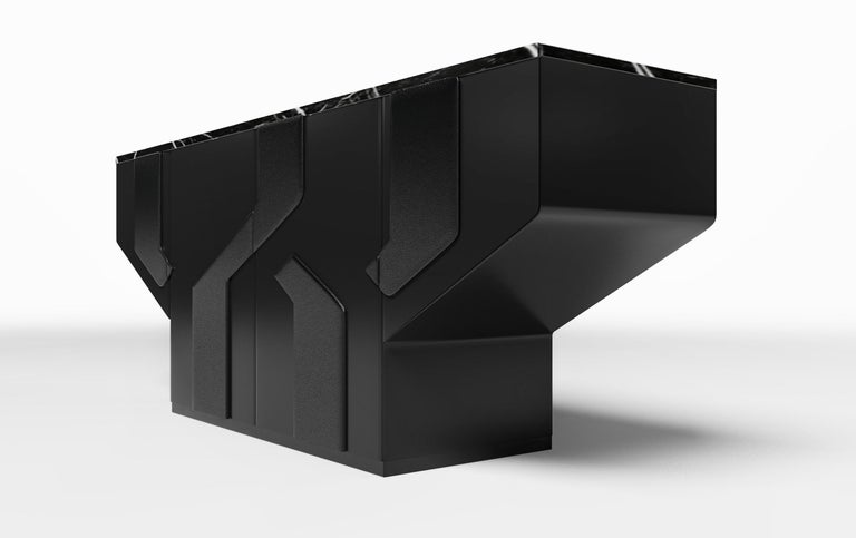 The Cruz credenza will be the featured element in any room. With a sleek shape and unique inset design, this Credenza will liven up any room. Ortiz Milano's Creative Director Susan Hornbeak Ortiz has created a masterpiece from her new Ortiz Milano